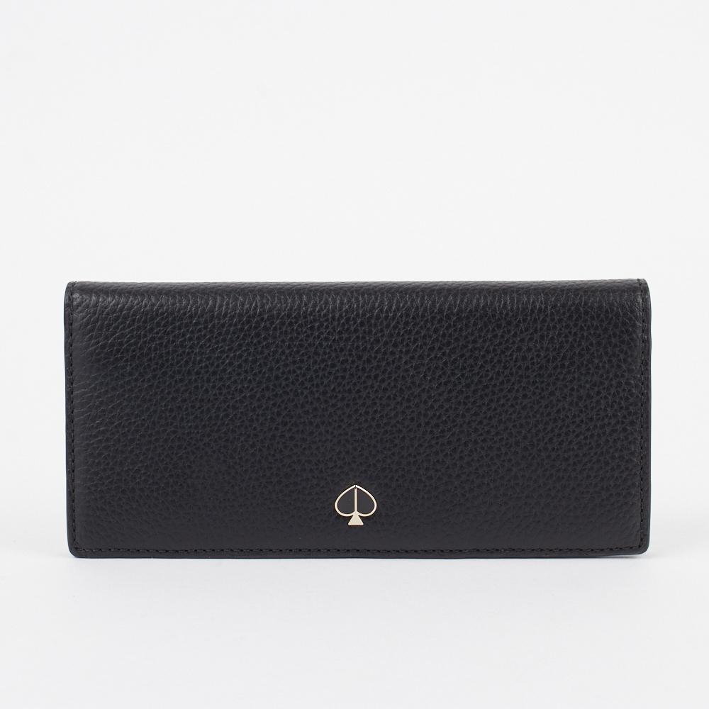 ケイトスペード KATE SPADE 長財布 【POLLY:ポリー】 bifold continental wallet PWRU7168 ブラック(001/BLACK) 【skl】
