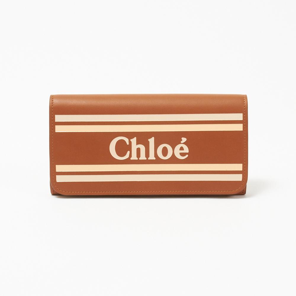 クロエ CHLOE 長財布 【VICK:ヴィック】 CHC19SP065A88 ブラウン系(247/CARAMEL) 【skl】【knd】