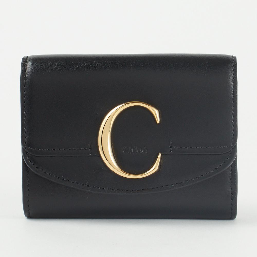 クロエ 折財布 【CHLOE C:クロエ シー】 CHC19WP088 A37 001 CHLOE 【skl】