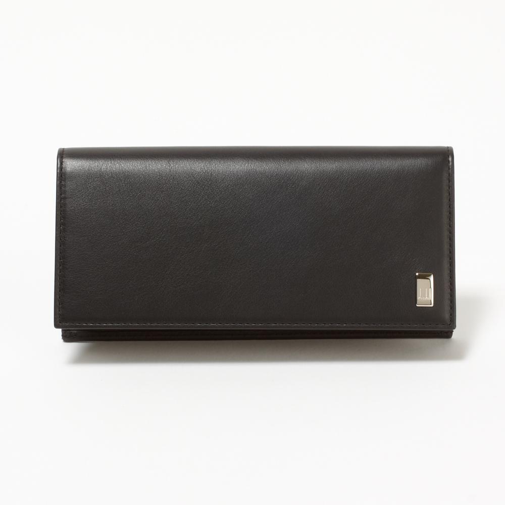 ダンヒル 財布 長財布 DUNHILL QD1010A SIDECAR ブラック 【skm】