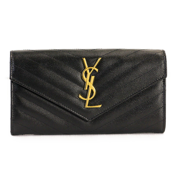サンローラン パリ 財布 長財布 SAINT LAURENT PARIS 372264 BOW01 1000 NERO 【MONOGRAMME】 【skl】【knf】
