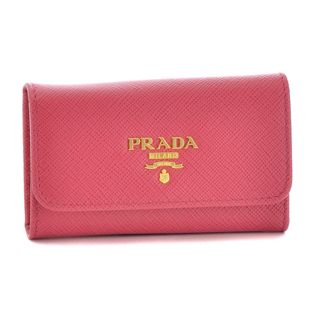 プラダ キーケース PRADA 1PG222 QWA F0505 PEONIA 【SAFFIANO 1】 【skl】
