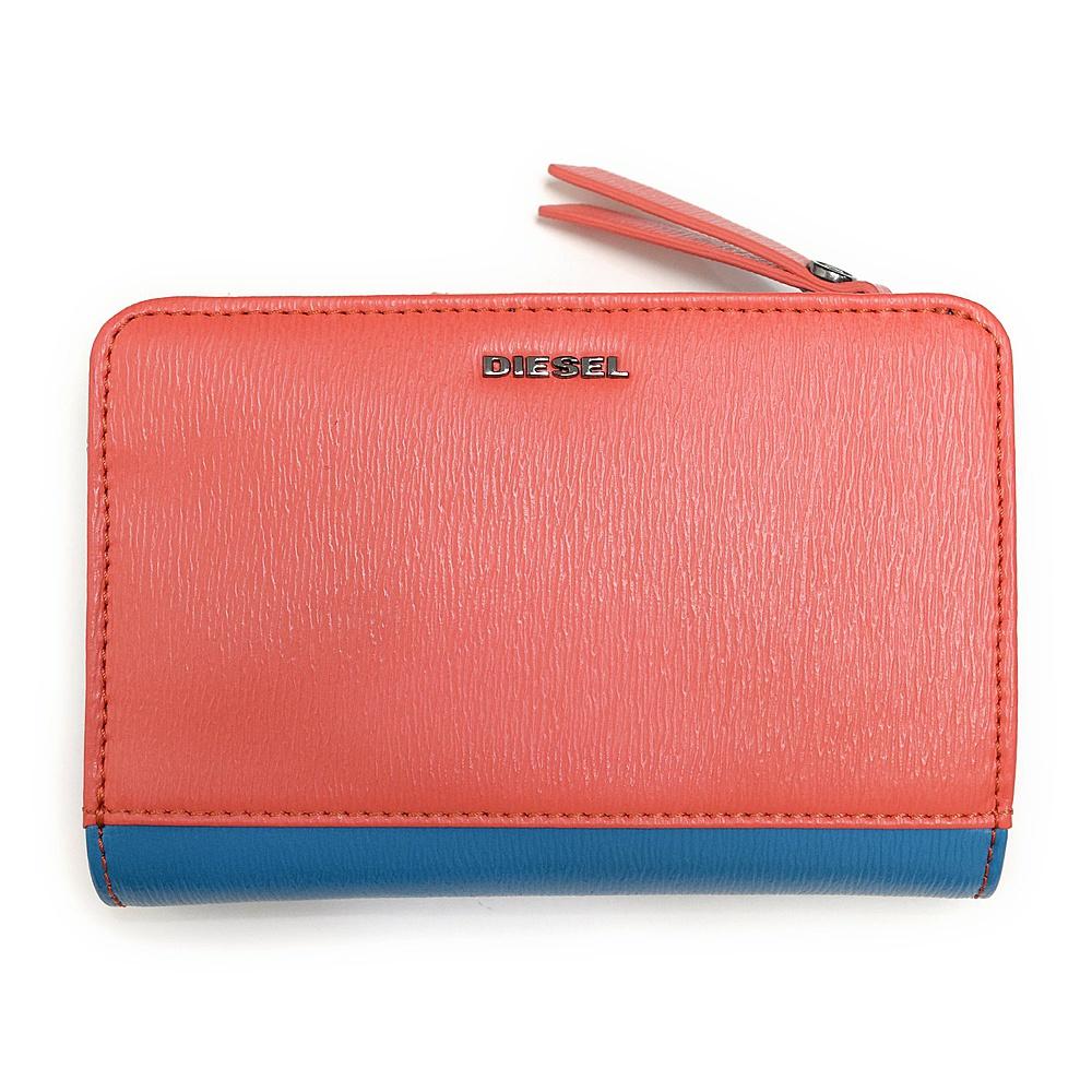 ディーゼル 財布 折財布 DIESEL X03855 PR160 H5981 Cayenne/Dark Torquoise BUSY-NESS