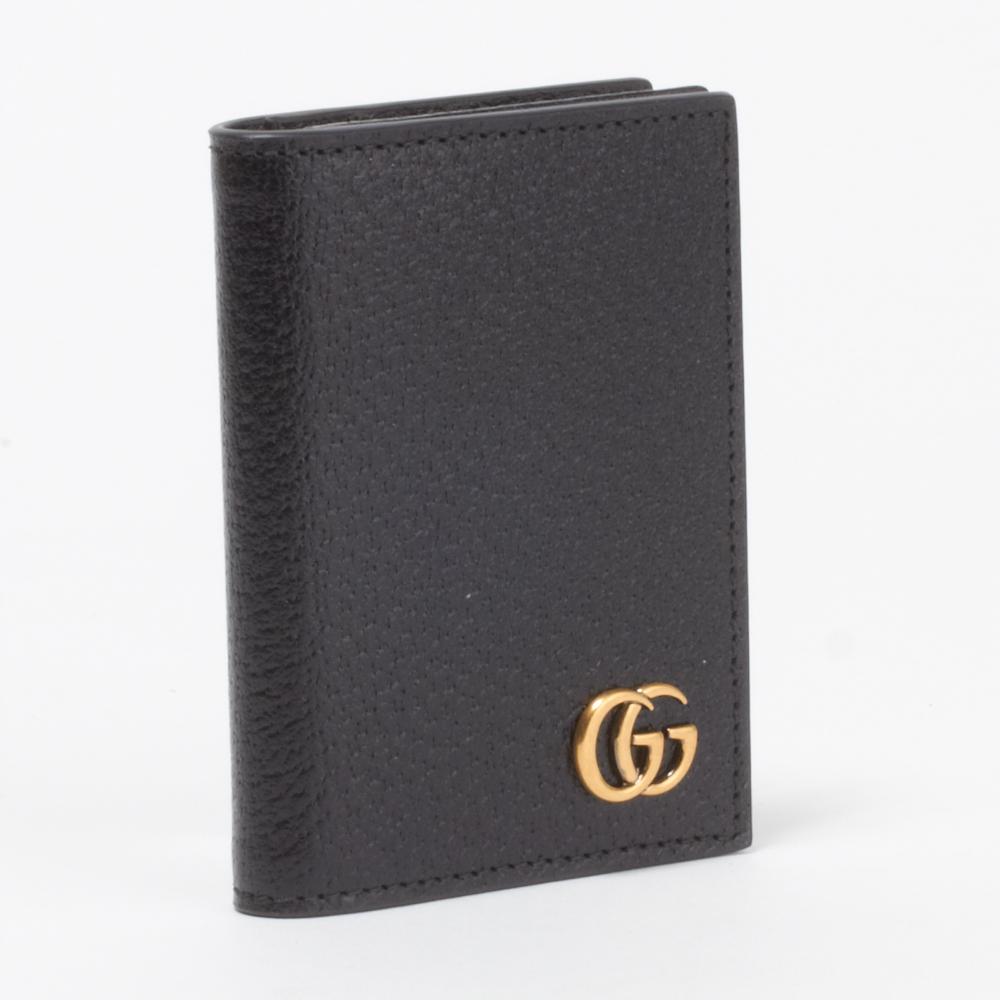 グッチ GUCCI カードケース 428737 DJ20T 1000 ブラック 【GG MARMONT:GGマーモント】 【skl】【skm】