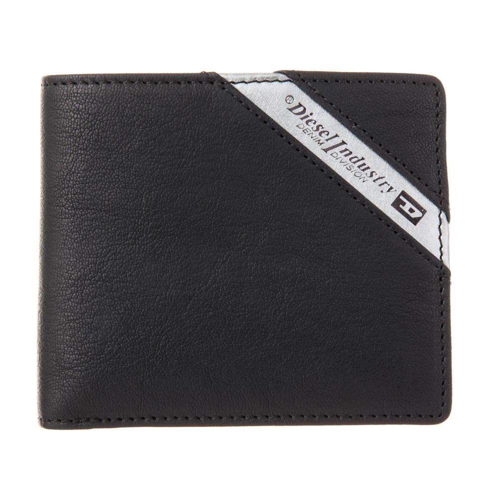 ディーゼル DIESEL 財布 折財布 X03611 P1221 H6168 BLACK 【LINE UP HIRESH S】 【zx5】