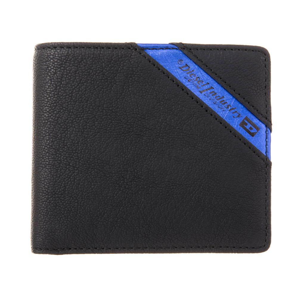 ディーゼル DIESEL 財布 折財布 X03611 P1221 H6169 BLACK 【LINE UP HIRESH S】