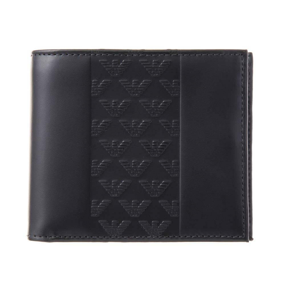 エンポリオアルマーニ EMPORIO ARMANI 財布 折財布 YEM122 YAL3V 80001 BLACK