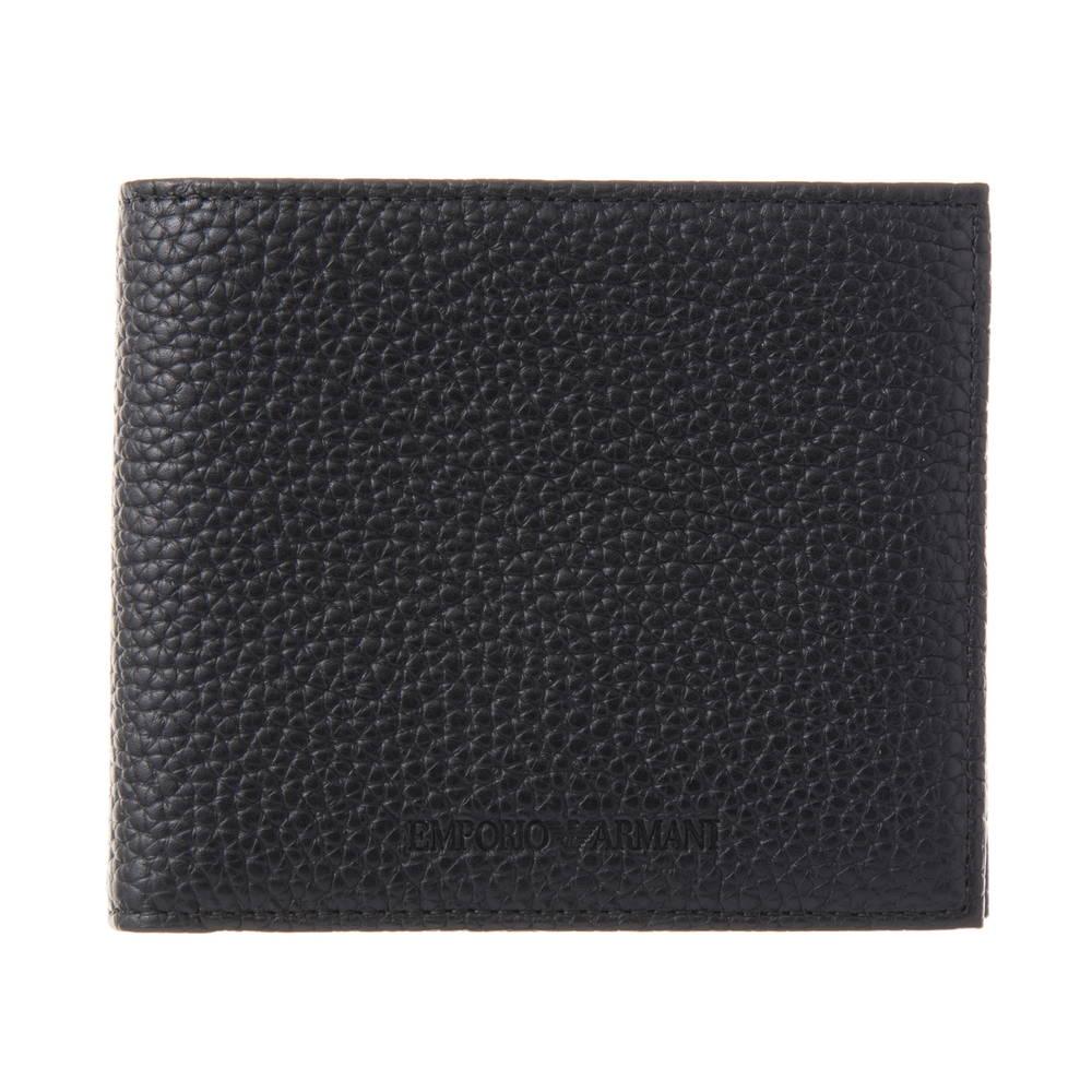 エンポリオアルマーニ EMPORIO ARMANI 財布 折財布 YEM122 YC89J 80001 BLACK