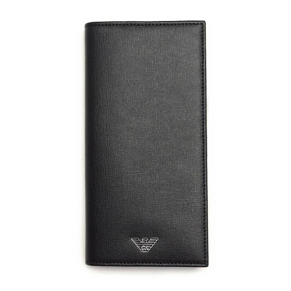 エンポリオアルマーニ EMPORIO ARMANI 財布 長財布 YEM474 YC91E 80001 BLACK 【skm】