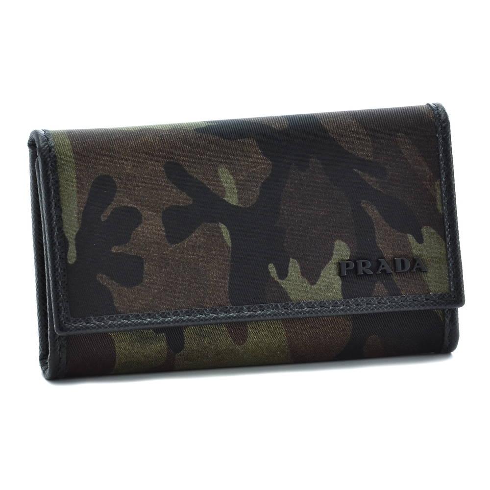 プラダ PRADA 財布 キーケース 2PG222 ZSR 334 MIMETICO