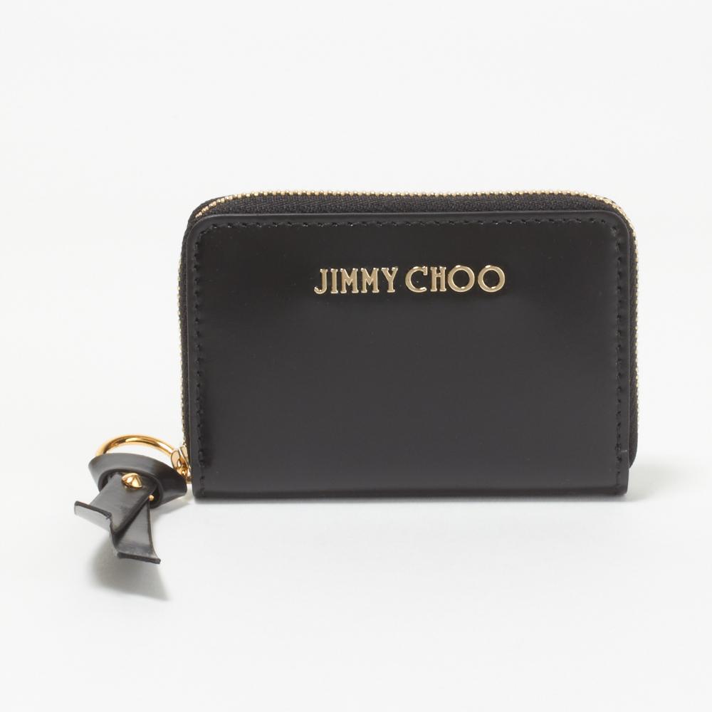 ジミーチュウ JIMMY CHOO コインケース REID SBK 【REID】 BLACK/GOLD 【skl】【skm】