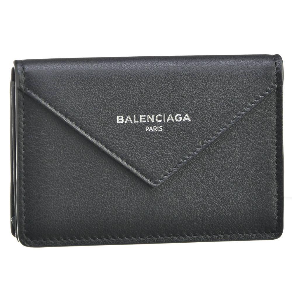 バレンシアガ BALENCIAGA カードケース 499201 DLQ0N 1000 【PAPIER ZA THIN CARD】 NOIR 【skl】【skm】【knc】