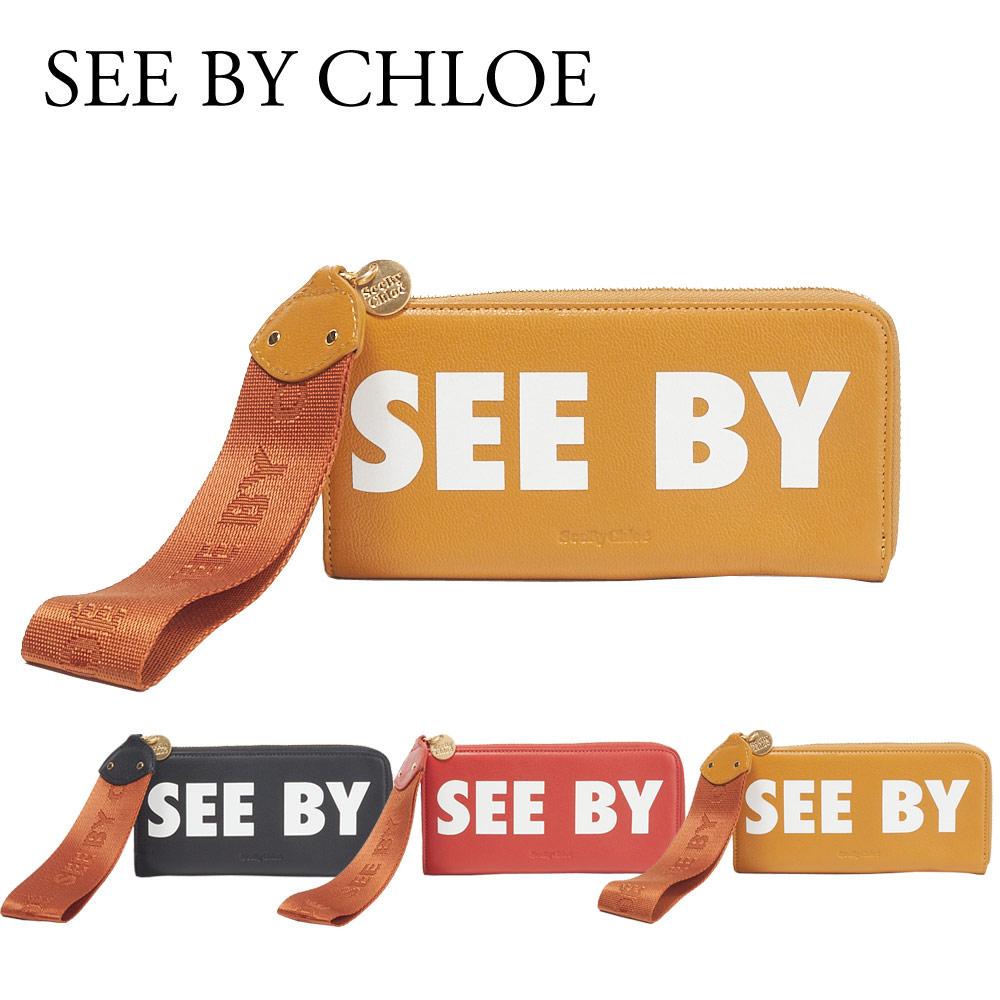 シーバイクロエ SEE BY CHLOE 長財布 【JORIS:ジョリス】 CHS18AP821 443 【skl】