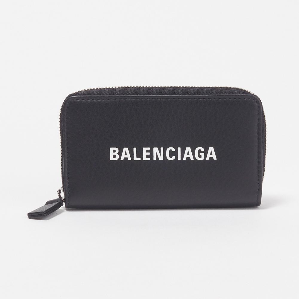 バレンシアガ BALENCIAGA コインケース 【エブリデイ:EVERYDAY】 551937 DLQ4N ブラック(1000 NOIR/L BLANC)