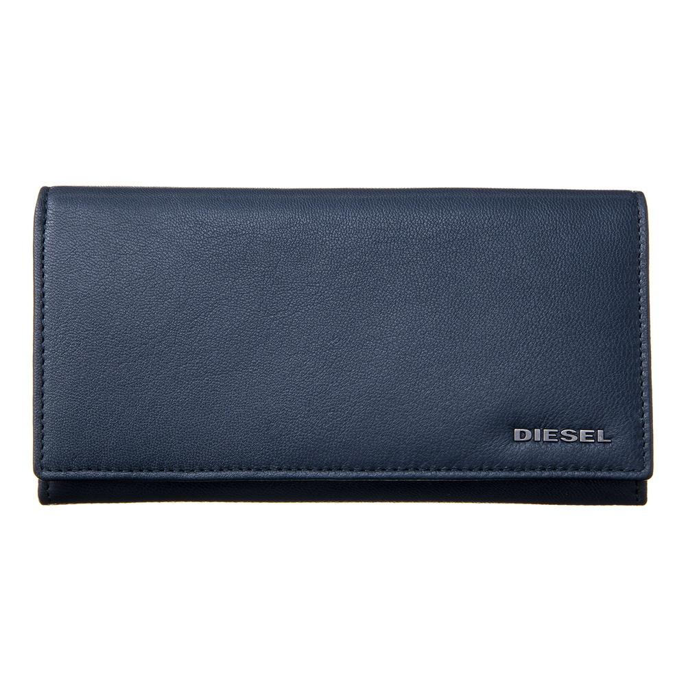 ディーゼル DIESEL 長財布 【FRESH STARTER】 X05660 P1752 ネイビー系(H6842)