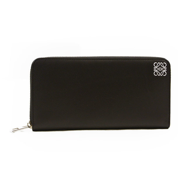 ロエベ 財布 長財布 ロエベ LOEWE 109N54.F13 1100 ZIP AROUND WALLET BLACK 【skl】