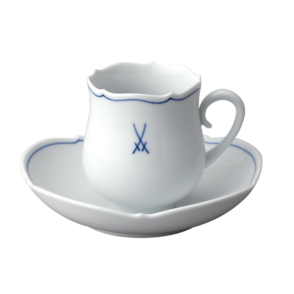 【予約会番号347】 MEISSEN マイセン ティーカップ VIP コーヒーカップ&ソーサー #582 23582 【お取り寄せ】
