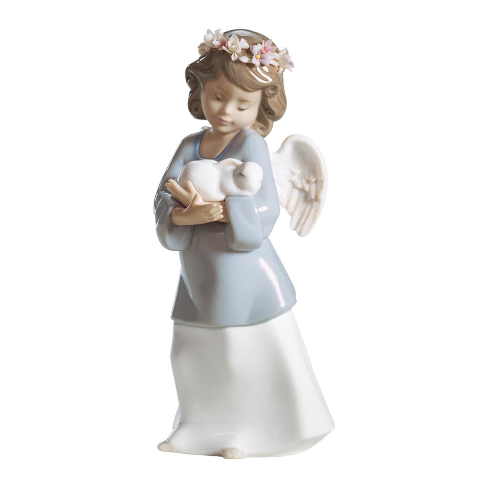 リヤドロ LLADRO 置物 フィギュアオーナメント 天使の宝もの 6856 【お取り寄せ】