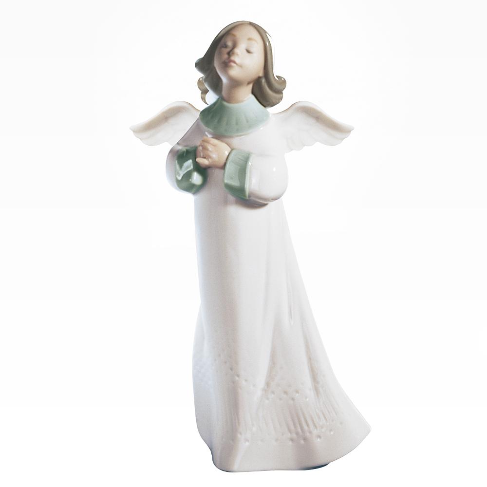 【ご予約会対象品】 リヤドロ LLADRO 天使の願い 置物 フィギュアオーナメント 6788 【お取り寄せ】
