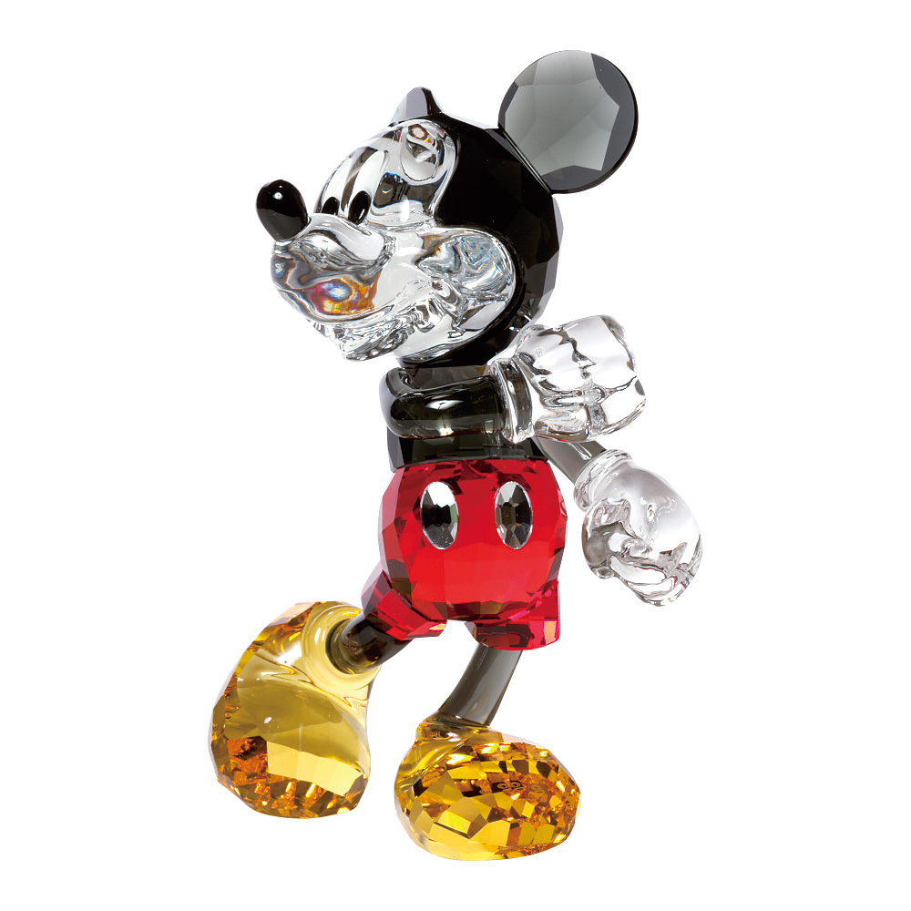 スワロフスキー SWAROVSKI 置物 フィギュアオーナメント ミッキーマウス (ミッキーマウスと仲間たち) 5135-887 【お取り寄せ】