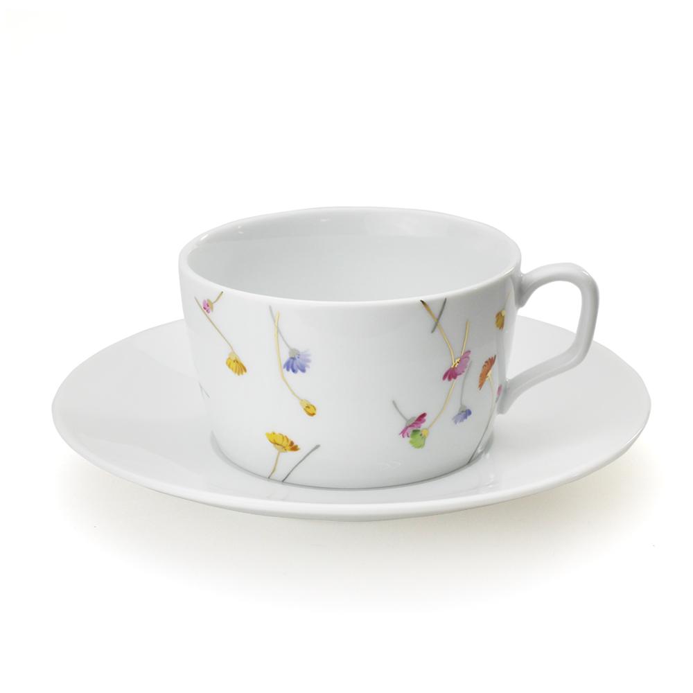 マイセン MEISSEN コーヒーカップ&ソーサー プレシャスフラワー 【お取り寄せ】