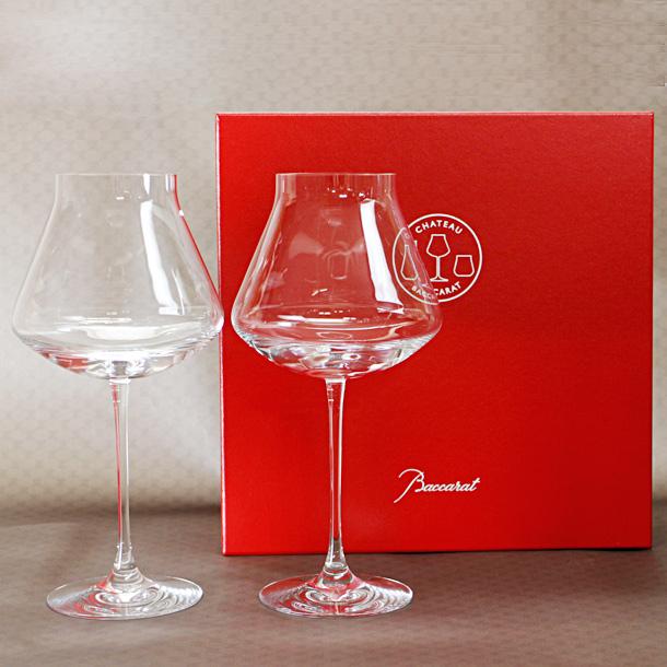 バカラ グラス シャトーバカラ ワイングラス XLサイズ ペア 【2802-435】 【バカラ:Baccarat】 【お取り寄せ】