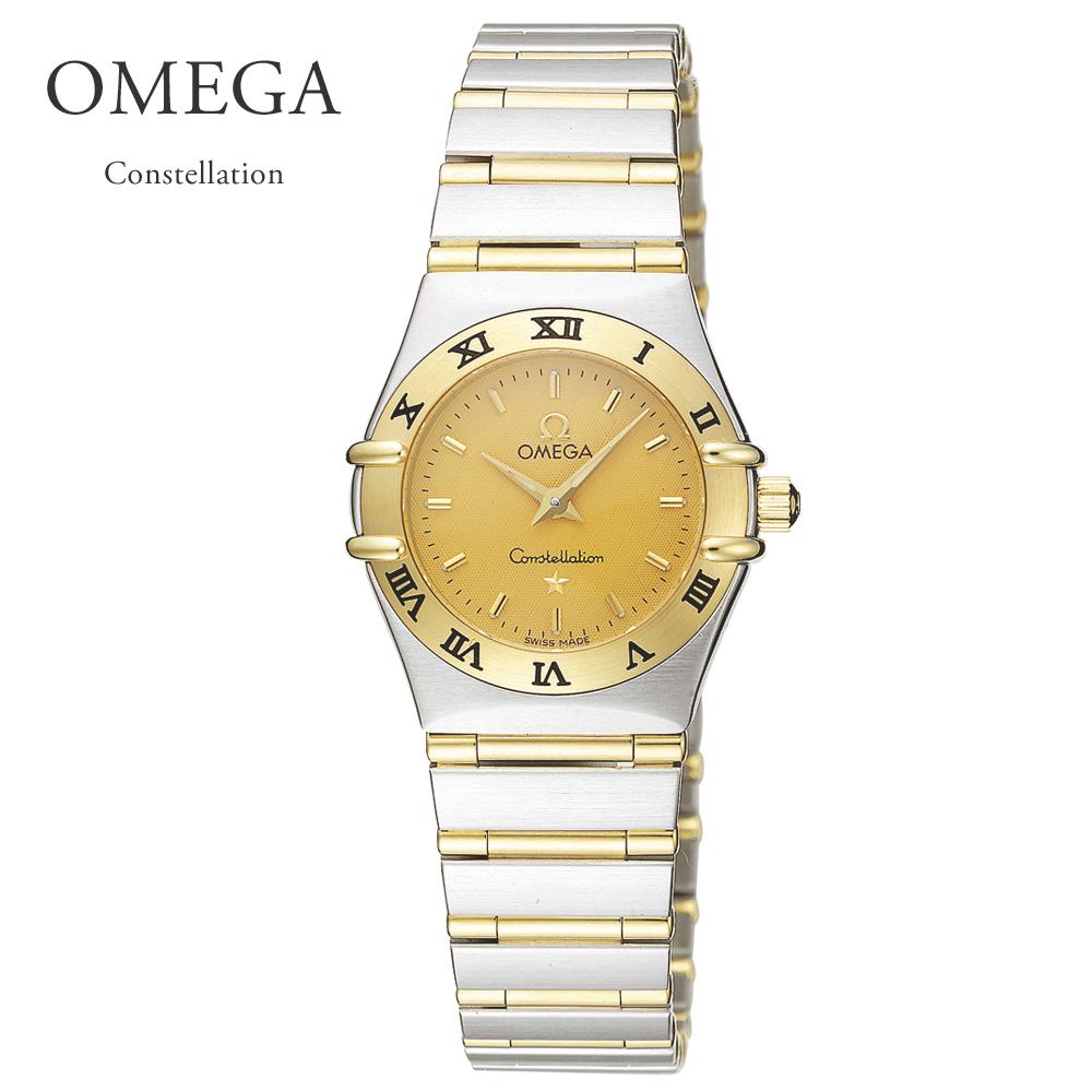 オメガ OMEGA 腕時計 レディースウォッチ コンステレーション 1262.10 シルバー×イエローゴールド 23mm 【お取り寄せ】【olw】