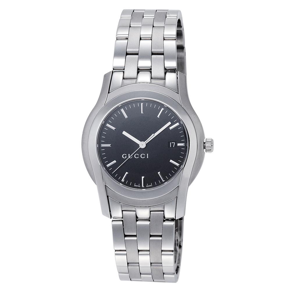 グッチ GUCCI 腕時計 メンズウォッチ YA055211 ブラック文字盤