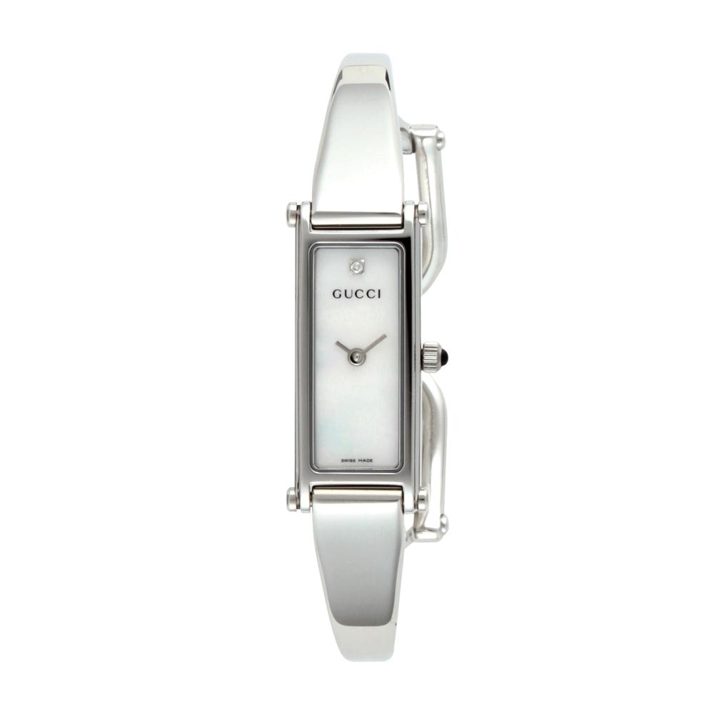eaeccfe7cdcf 腕時計 GUCCI グッチ レディース ホワイトシェル YA015561 【1500】 時計 ...