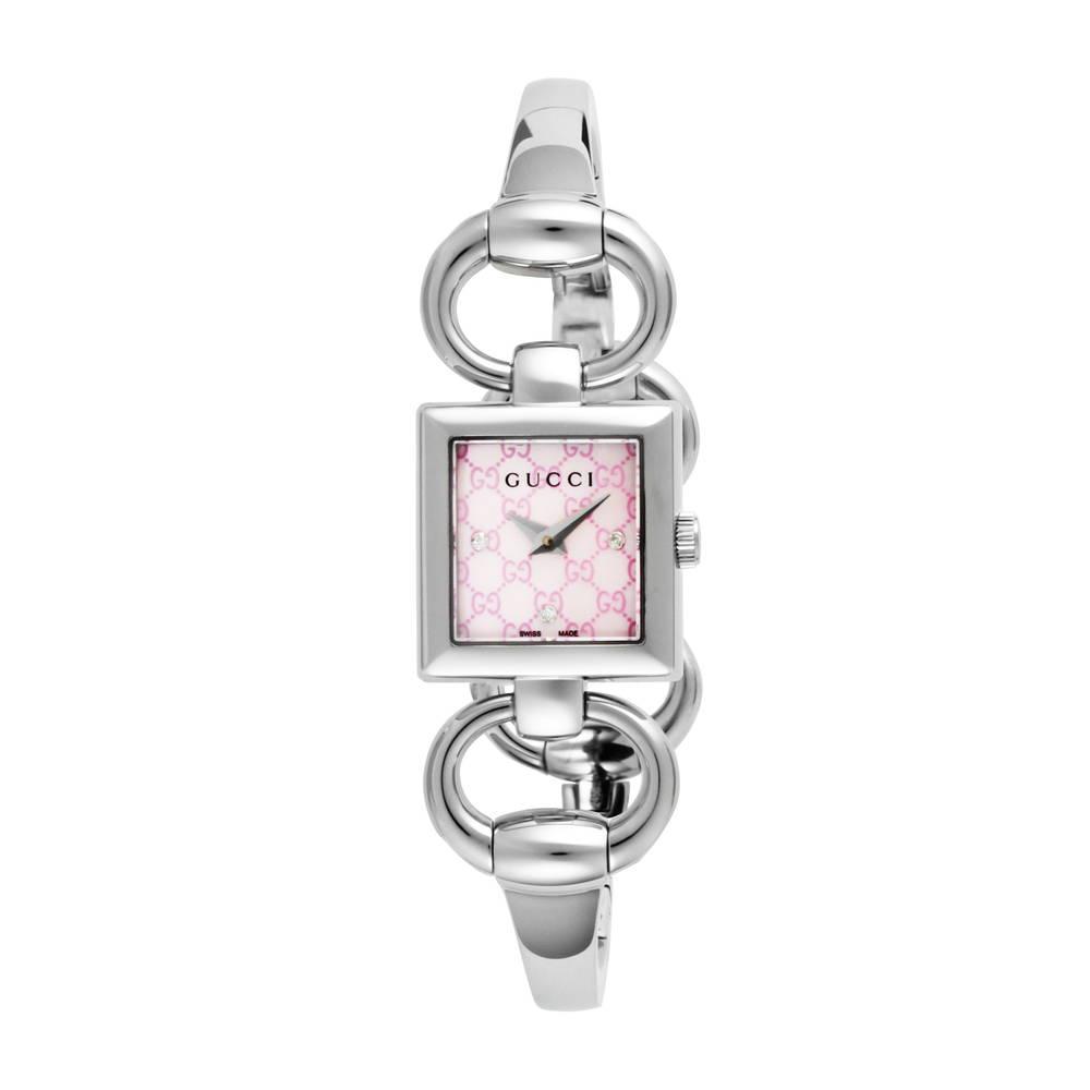 グッチ GUCCI 腕時計 レディースウォッチ 【トルナヴォーニ】 YA120518 ピンクパール 【wcl】