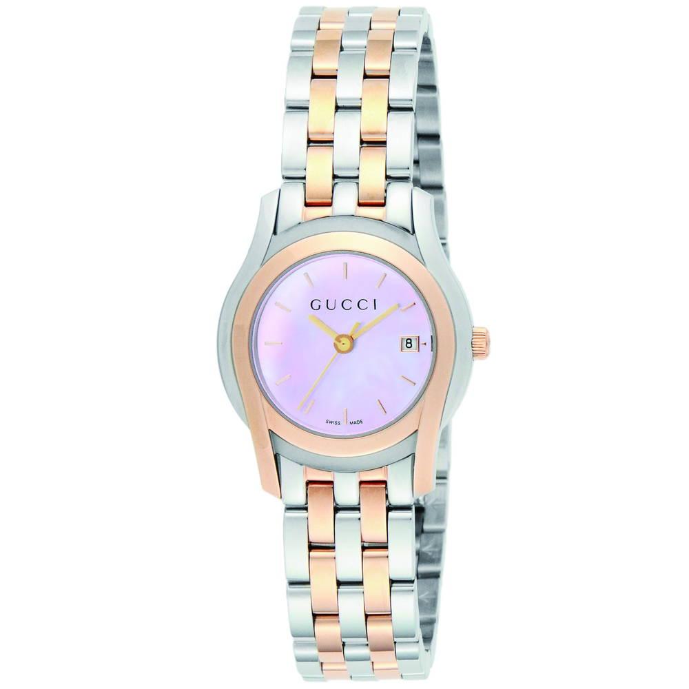 グッチ GUCCI 時計 レディースウォッチ YA055539 【Gクラス】 ピンクパール