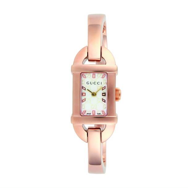 グッチ GUCCI 腕時計 レディース 時計 【バンブー】 YA068584 ホワイトシェル