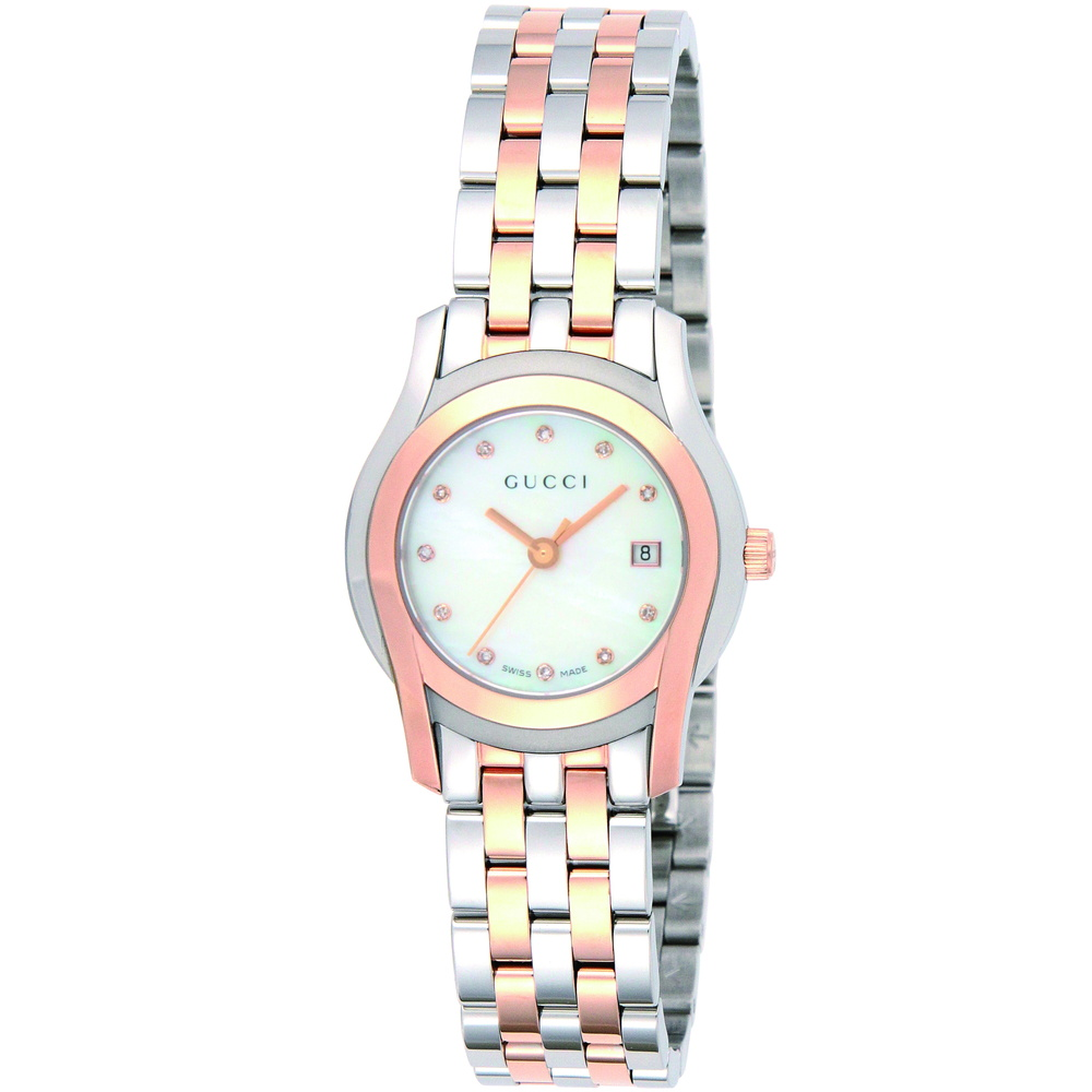 グッチ GUCCI 腕時計 レディースウォッチ 【Gクラス】 YA055535 ホワイトシェル 【glw】