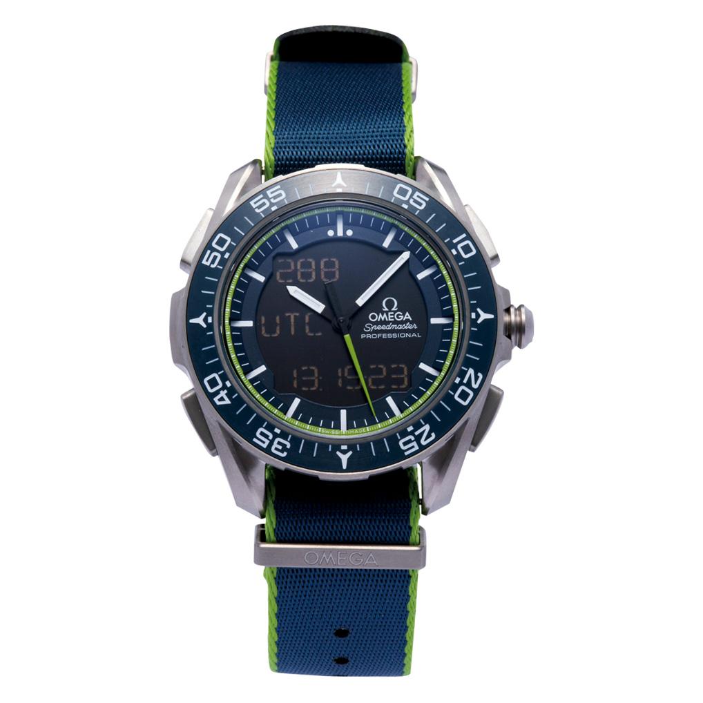 オメガ OMEGA 腕時計 メンズウォッチ スピードマスター スカイウォーカー X-33 318.92.45.79.03.001 メンズ 【お取り寄せ】【omw】
