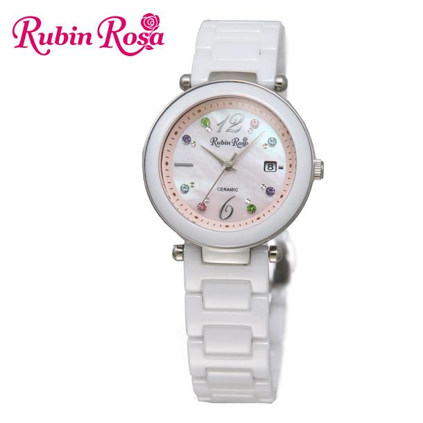 ルビンローザ 腕時計 レディース RUBIN ROSA R307SPKMOP