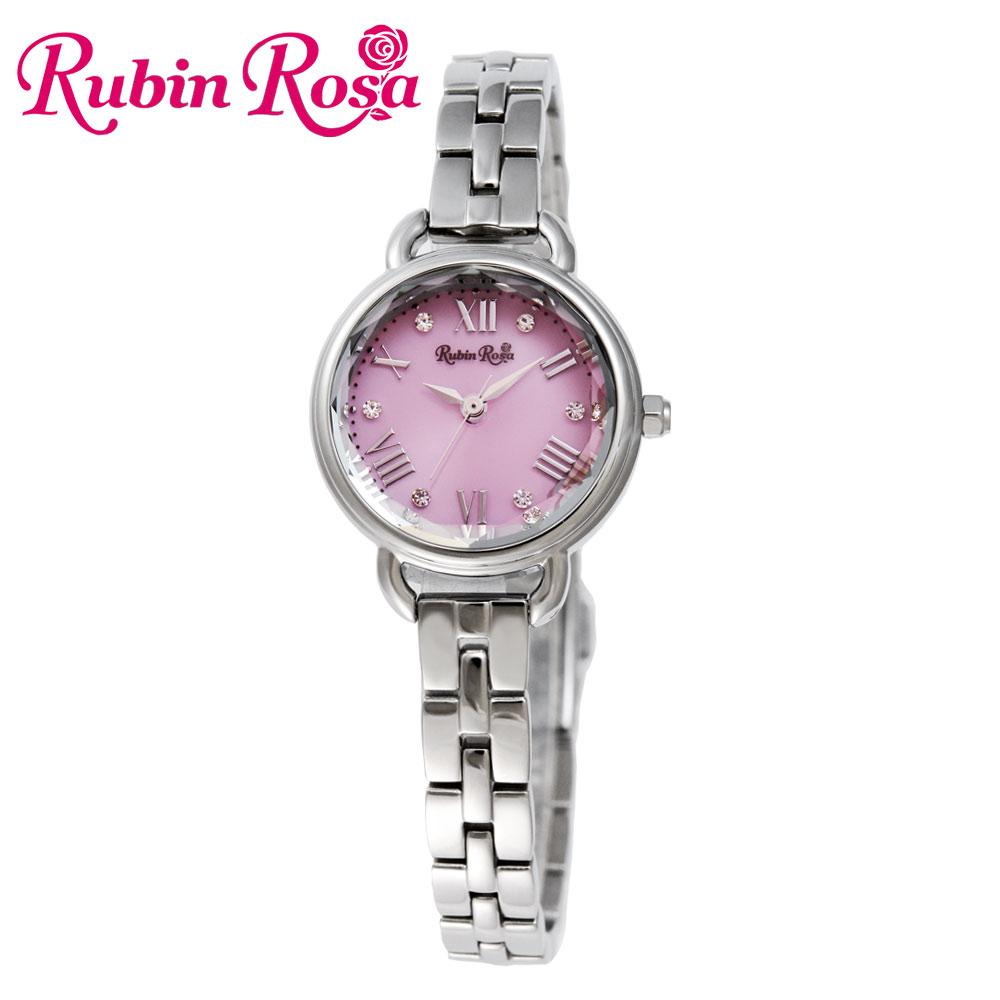 ルビンローザ RUBIN ROSA 時計 腕時計(レディース) R019SOLSPK ピンク