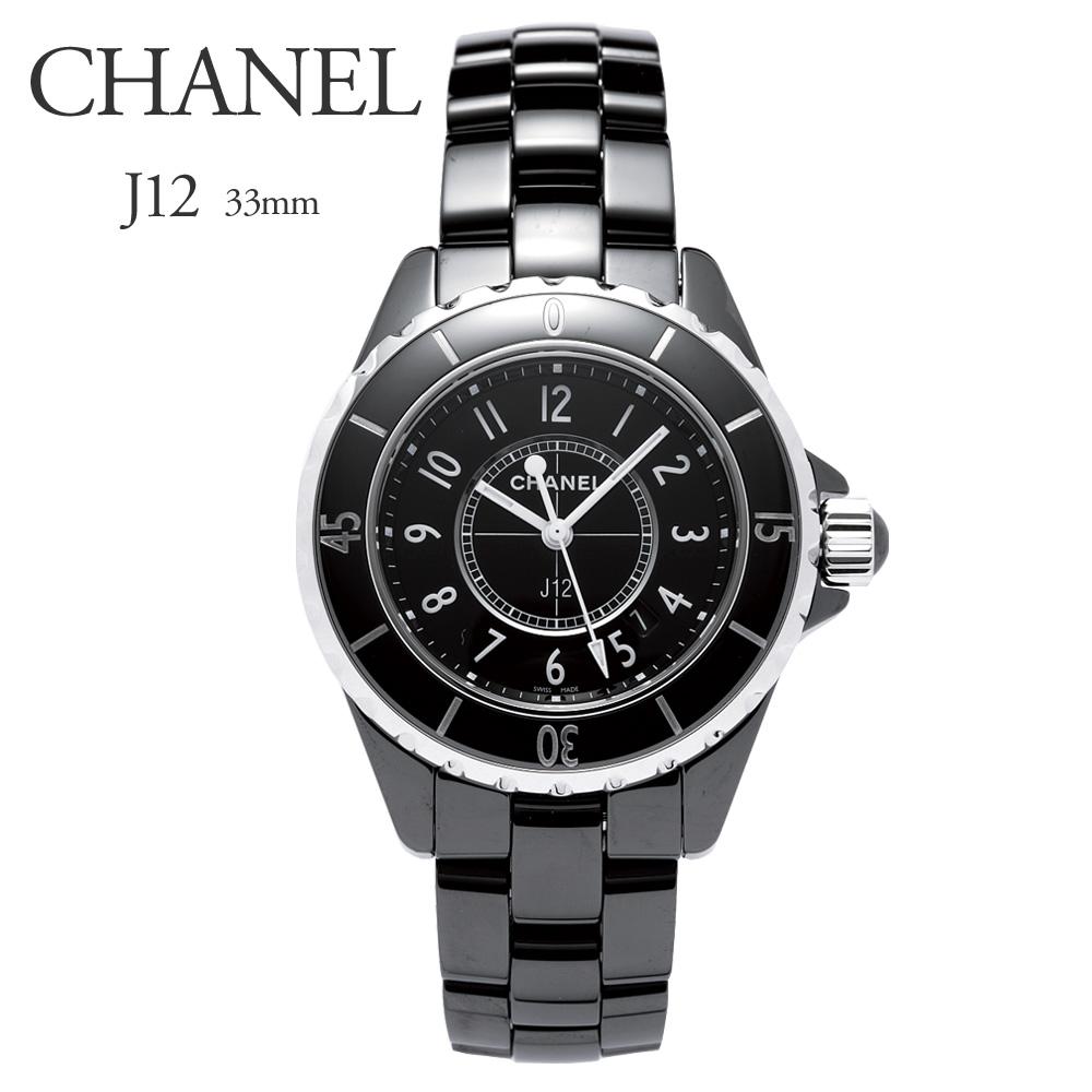 シャネル CHANEL 腕時計 レディースウォッチ J12 セラミック H0682 ブラック 33mm 【お取り寄せ】【wcl】 【お取り寄せ】【wcl】