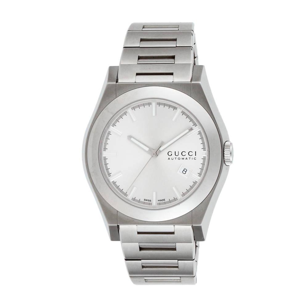 544215f84589 グッチ GUCCI 腕時計 メンズウォッチ 【バンテオン】 YA115202 シルバー