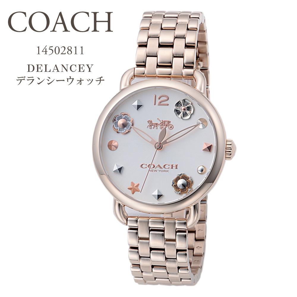 コーチ COACH 腕時計 レディースウォッチ 【DELANCEY】 rose gold 14502811