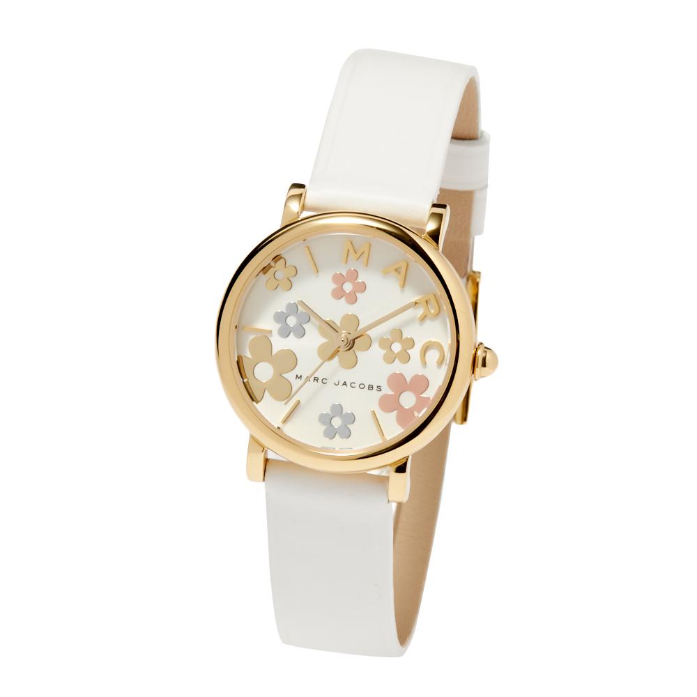マークジェイコブス MARCJACOBS 腕時計 レディースウォッチ 【Marc Jacobs Classic】 ゴールド×ホワイト MJ1607