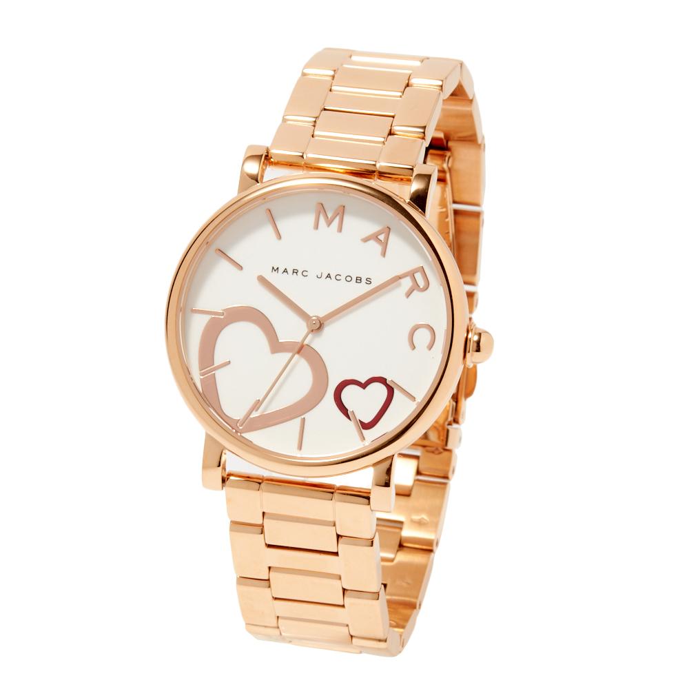 マークジェイコブス MARCJACOBS 腕時計 レディースウォッチ 【Marc Jacobs Classic】 ローズゴールド×ホワイト MJ3589
