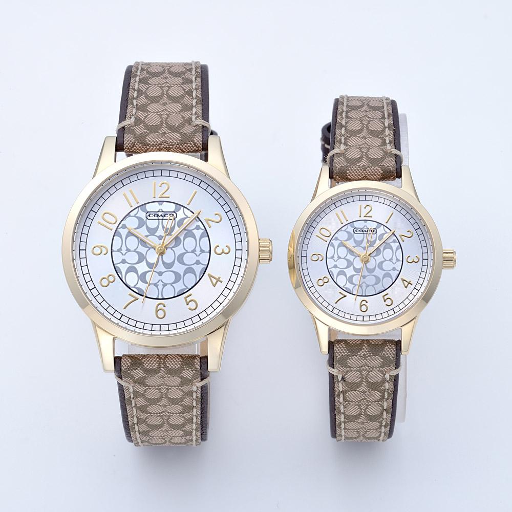 コーチ COACH 腕時計 ペアウォッチ 14000043 ゴールド
