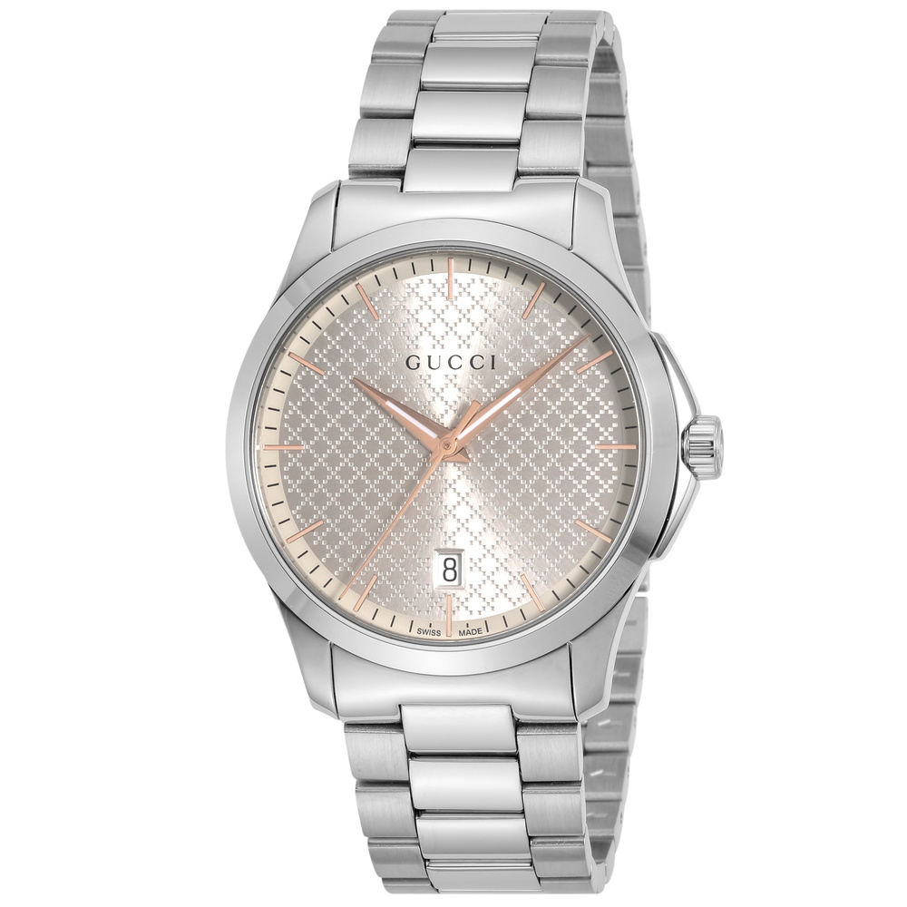 グッチ GUCCI 腕時計 メンズウォッチ 【Gタイムレス】 YA1264052 シルバー 【wcm】
