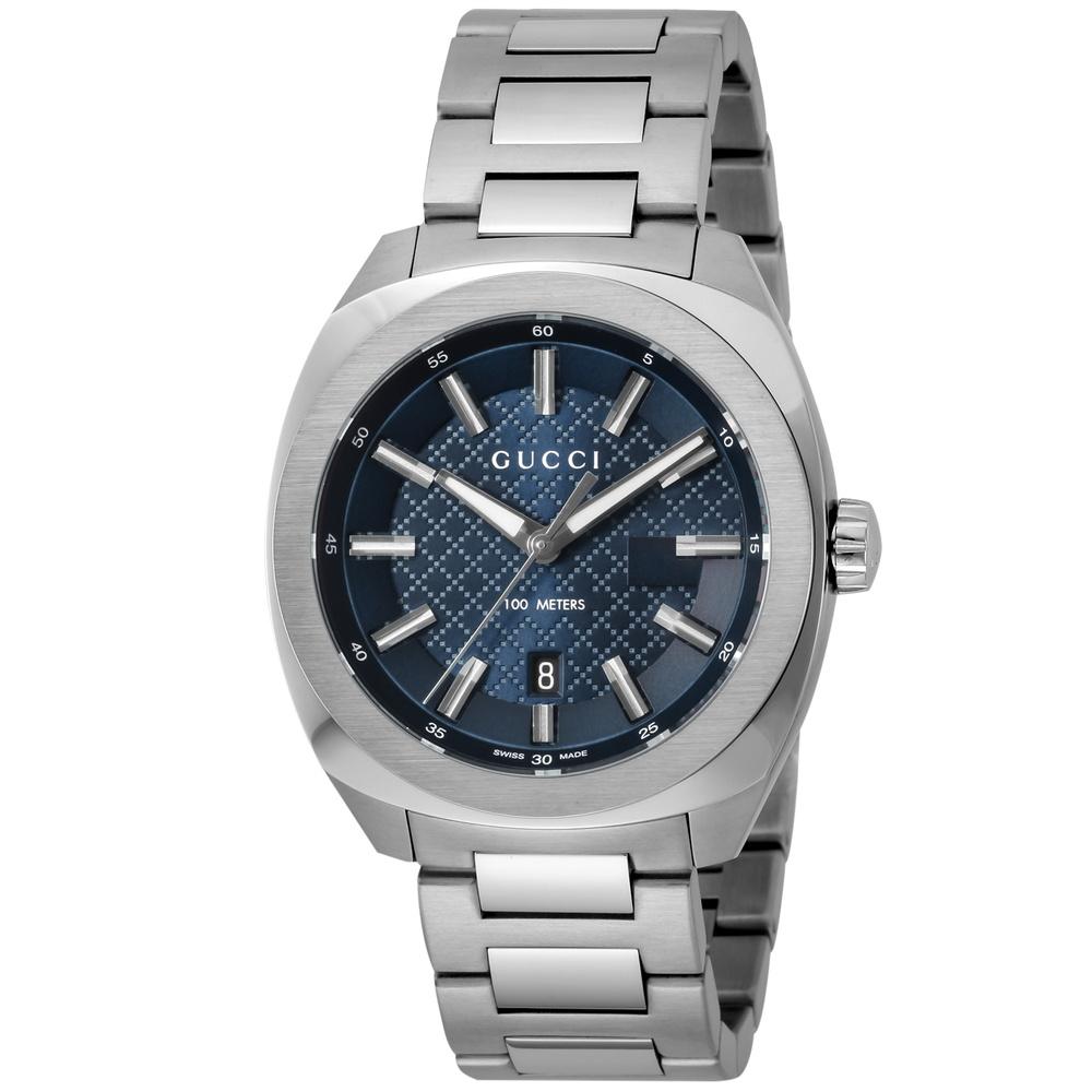 グッチ GUCCI 腕時計 メンズウォッチ 【GG2570】 YA142314 ブルー 【wcm】