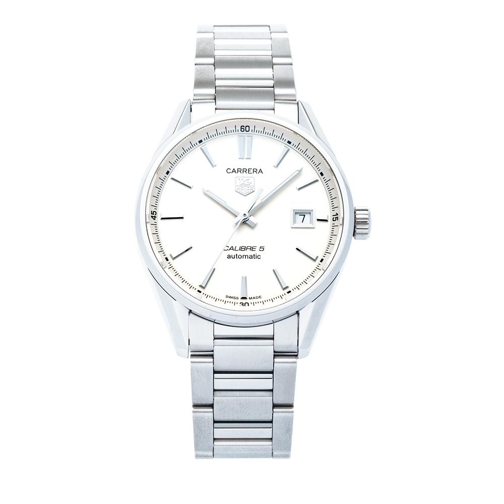 タグホイヤー TAG HEUER 腕時計 メンズウォッチ 【カレラ】 WAR211B.BA0782 ホワイト 【お取り寄せ】