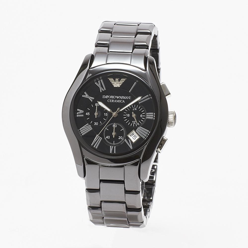 エンポリオアルマーニ 腕時計 メンズウォッチ AR1400SS BLACK/BLACK EMPORIO ARMANI