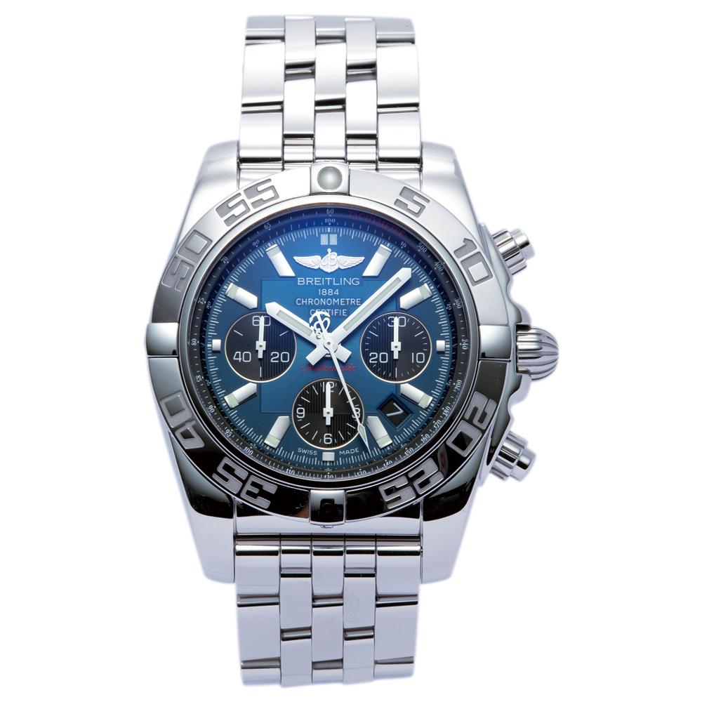 ブライトリング BREITLING 腕時計 メンズウォッチ 【クロノマット】 AB011012 C789 375A ネイビー 【お取り寄せ】