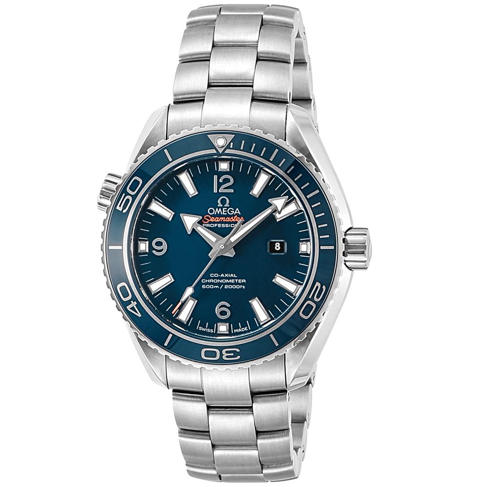 オメガ OMEGA 腕時計 メンズウォッチ プラネットオーシャン 232.90.38.20.03.001 ブルー 38mm 【お取り寄せ】