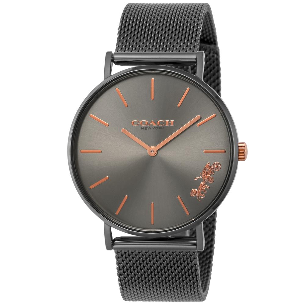 コーチ COACH 腕時計 レディースウォッチ 【PERRY:ペリー】 14503127 BLACK/GREY 【wcl】