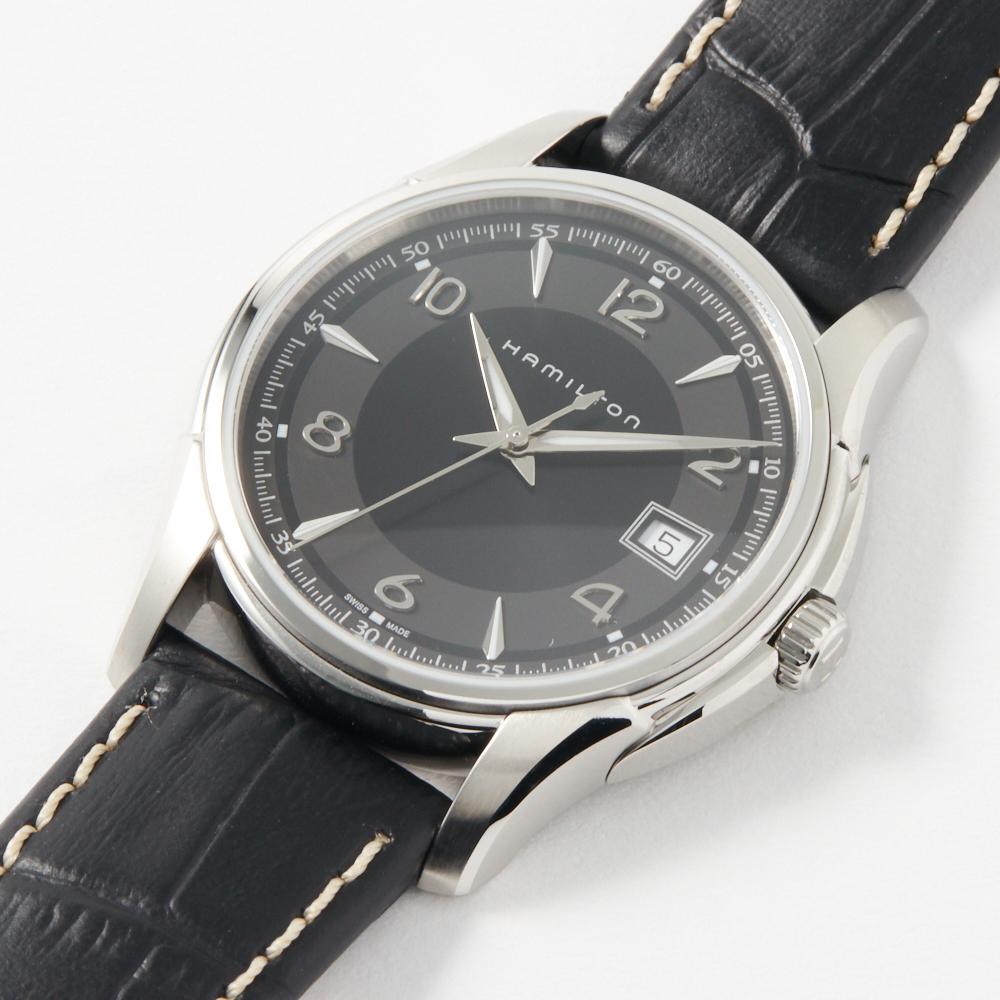 ハミルトン HAMILTON 腕時計 メンズウォッチ 【Jazzmaster】 H32411735 ブラック